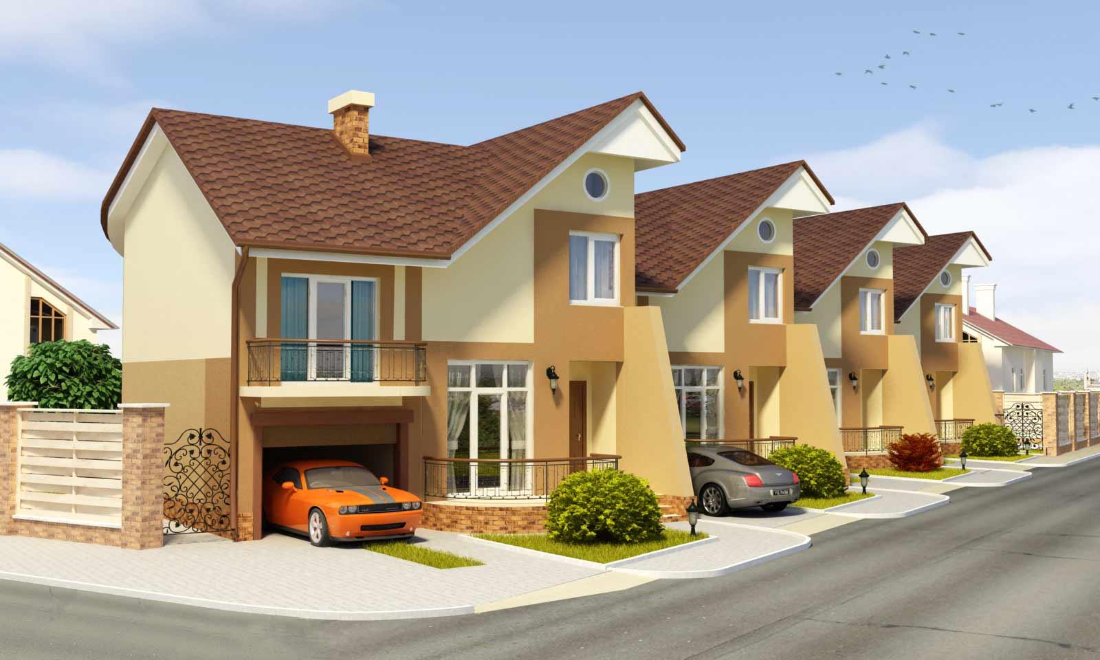 Вход частного дома, особенности отделки и дизайна, фото-идеи