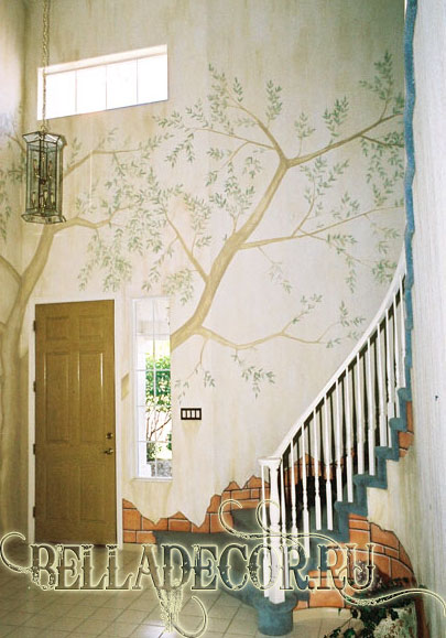 роспись на стенах фото