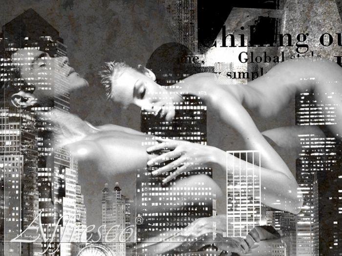 эротические фотообои на стену: