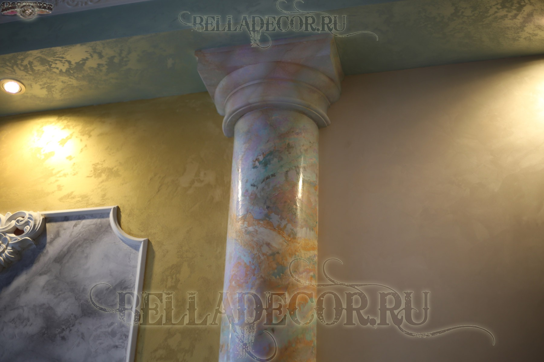 Creama Bianco Stucco Veneziano - материал венецианская штукатурка