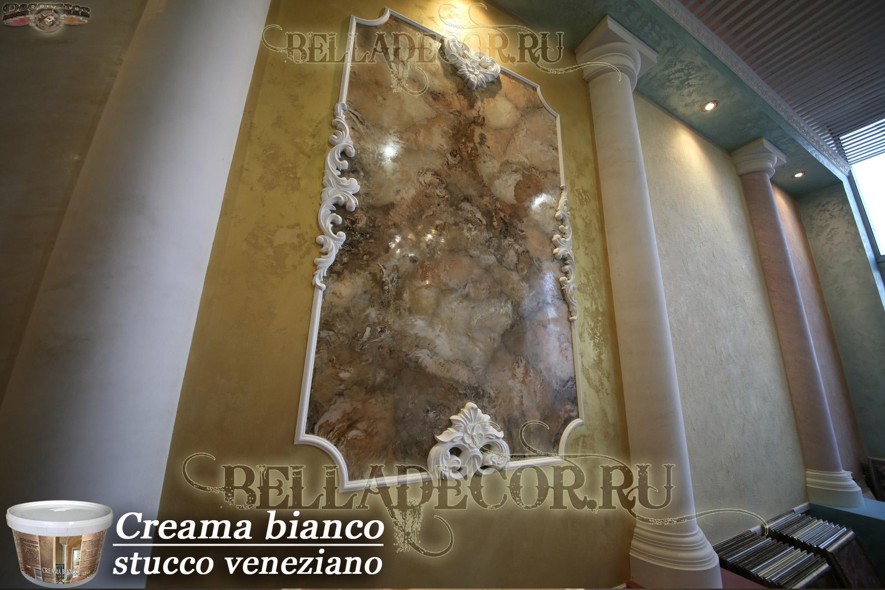 Венецианская штукатурка в нишах фото картинка